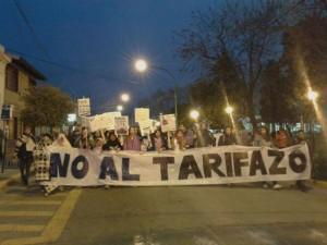 Contra el tarifazo