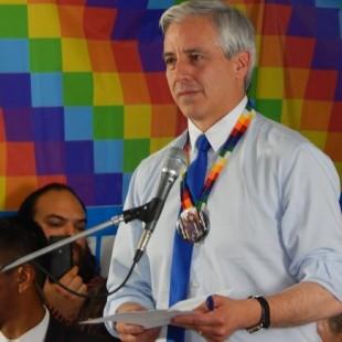 Álvaro García Linera recibió el premio Rodolfo Walsh