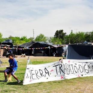 """""""Hemos levantado el acampe por el compromiso que han asumido provincia y municipio"""""""