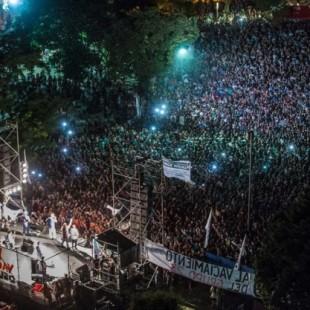 Masivo festival en apoyo a los trabajadores del Grupo 23