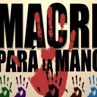 «La única forma de que Macri no siga avanzando es que estemos todos juntos y organizados»