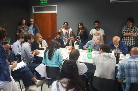 Concejales del FpV, referentes sociales y organizaciones rechazaron el proyecto de protocolo antipiquete local