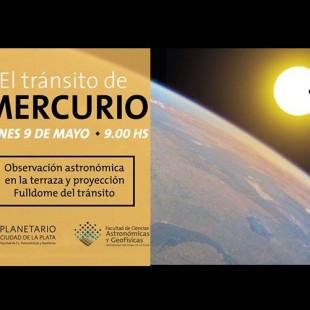 """El Planetario te invita a ver el """"Transito de Mercurio"""""""