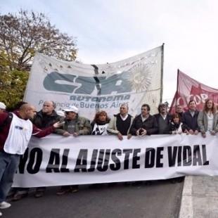 Estatales rechazan el decreto de Vidal y anuncian paro