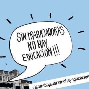 """Educación: """"Para el Gobierno de María Eugenia Vidal la salud y la educación son un gasto"""""""