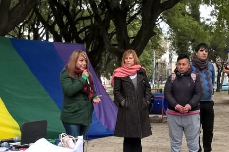 Se realizó el festival por los derechos trans en Plaza Matheu
