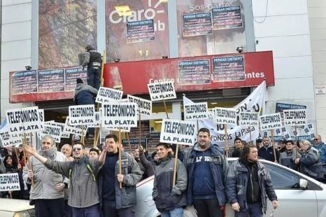 """""""Queremos que se sepa que estos compañeros no tienen la libertad de sindicalizarse"""""""