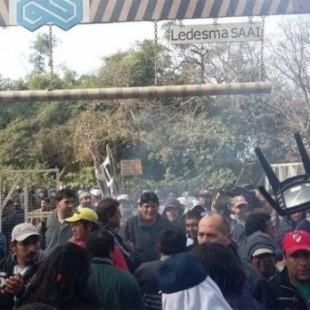 Reprimen en Ledesma y se llevan preso al marido de Milagro Sala
