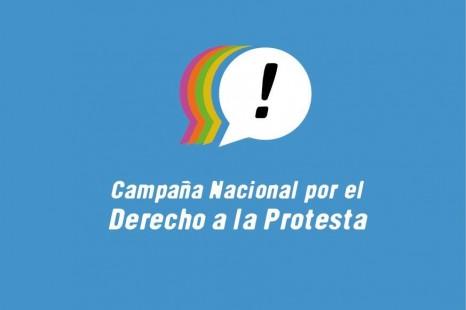 Se presenta la Campaña Nacional por el Derecho a la Protesta
