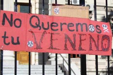 Repudian el proyecto de ley de agrotoxicos en la legislatura bonaerense