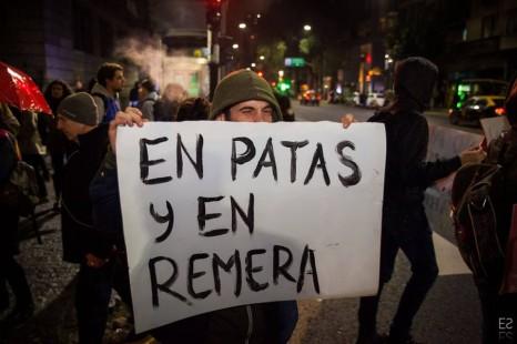 «No al tarifazo»