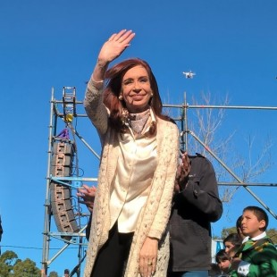 Cristina Fernández visitó Ensenada