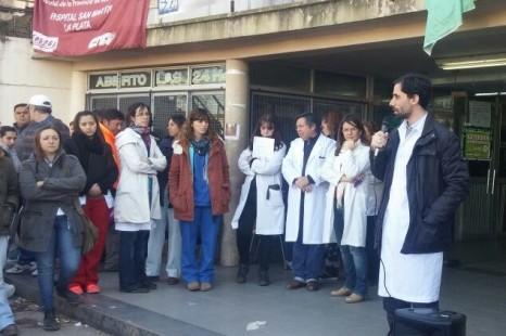 Se cayó un ascensor en el Hospital San Martín y los trabajadores denuncian que la situación es crítica