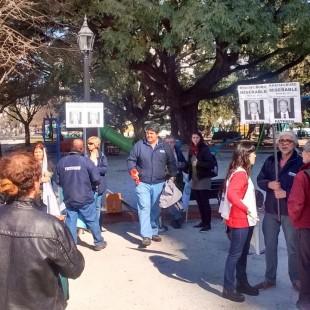 Trabajadores de prensa movilizaron en reclamo de salario