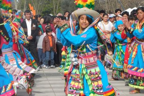 Celebraron los bolivianos residentes en La Plata
