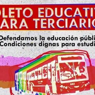 Institutos terciarios exigen el boleto estudiantil