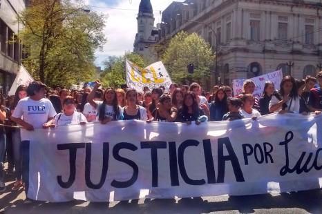 «Desnaturalicemos la violencia, justicia por Lucía»