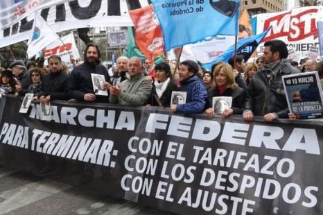 Estela Díaz: «Necesitamos una amplísima unidad de acción, que cada vez crezca más, porque hay que parar el ajuste»
