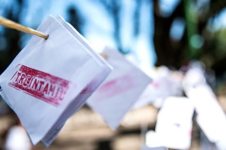 La Municipalidad sacó los sobres en homenaje a las y los desaparecidos durante la última dictadura cívico militar