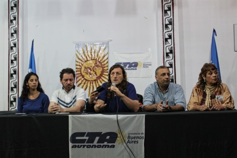 La CTA Autónoma bonaerense anuncia paro y se adhiere al reclamo de las mujeres