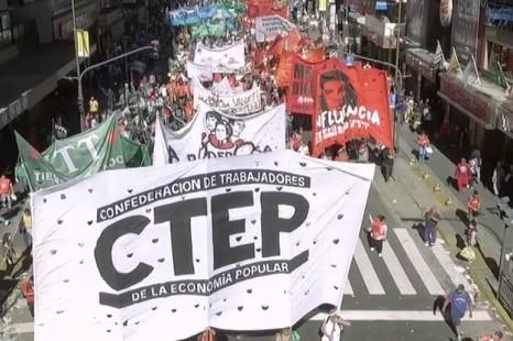 Los movimientos sociales esperan el ingreso de la Ley de Emergencia Social a Diputados