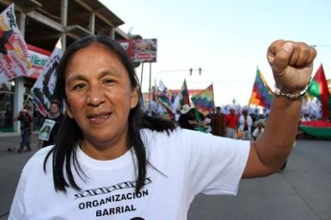 """Milagro Sala denunció que es perseguida por Morales porque """"los negros nos pudimos organizar"""""""
