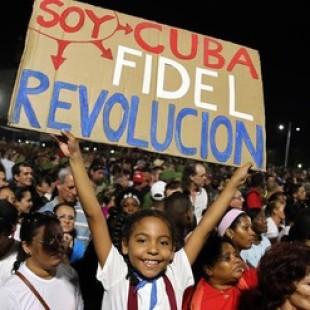"""Adiós a Fidel: """"yo estoy acá para defender el legado del comandante"""""""