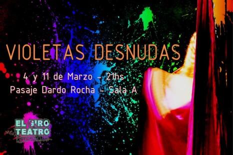 Violetas Desnudas en el Festival de La Mujer