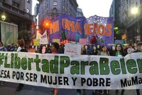 """""""El movimiento feminista fue muy importante para que Belén hoy esté absuelta"""""""