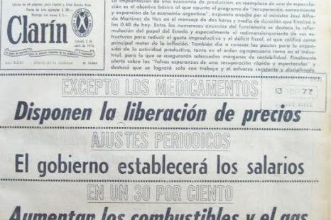 Casi 1 de cada 10 leyes vigentes pertenecen a la última dictadura