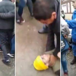 """La policía reprimió a alumnos en Berisso: """"Estamos reclamando hace un año por el Fondo Educativo"""""""