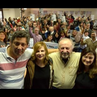 Se lanzó el Frente Político Social Carlos Cajade como opción barrial contra los ajustes