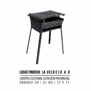"""Lucas Finocchi: """"El disco tendría que llamarse: 20 años con la música"""""""