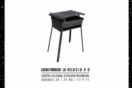 """Lucas Finocchi: """"El disco tendría que llamarse: 20 años con la música»"""