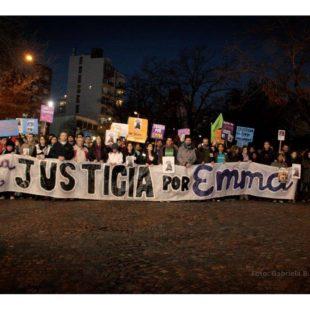 Una multitud marchó para pedir Justicia por Emma