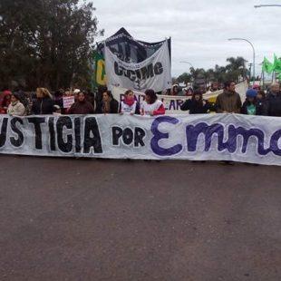 Una marcha recorrió las calles de Punta Lara exigiendo justicia por Emma