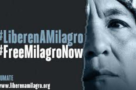 """Liberen a Milagro"" lanzaron campaña internacional para pedir por la libertad de la presa política"