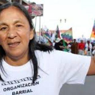 """Estela Díaz: """"La justicia es usada para perseguir"""""""