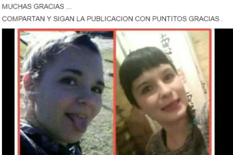 Buscan a dos hermanas de Ensenada desaparecidas desde el jueves