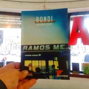 """Bondi: """"Una condensación de las cosas que estoy pensando en relación a la vida"""""""