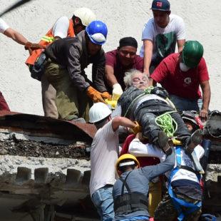 Terremoto en México: más de 250 muertos y miles de desaparecidos