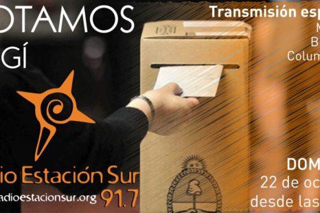 Elecciones: Transmisión especial
