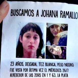 Estación Sur participó de la jornada en reclamo de la aparición de Johana Ramallo
