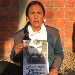 """""""Santiago Maldonado es el problema político más grande que tiene el Gobierno"""""""