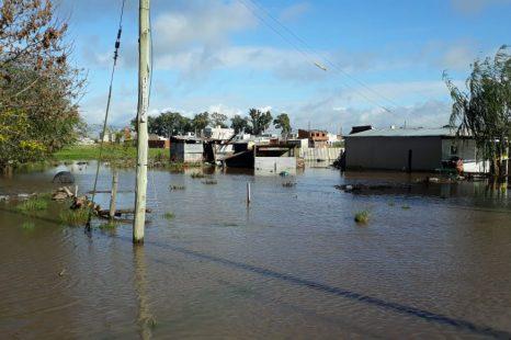 """Los Robles inundado: """"La lluvia nos tomó por sorpresa"""""""