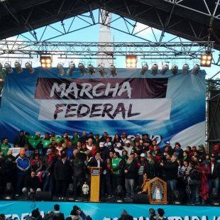"""Marcha Federal: """"El pueblo lo que quiere es ser escuchado"""""""