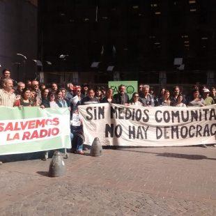 #SalvemosLaRadio| Jornada de Lucha en todo el país con radio abierta frente a Enacom