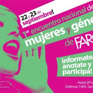 Se viene el primer Encuentro de Mujeres y Géneros del Foro Argentino de Radios Comunitarias