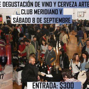 Meridiano V realizará este sábado su 5ta Feria del Vino