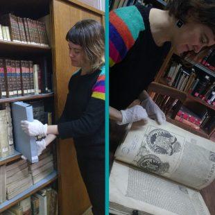 """Flor Bossie: """"Los ex libris son marcas artísticas"""""""